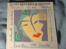 "12"" LP Record. ""Every  Man Has A Woman"" Various Artists. 1984 Polydor Records."