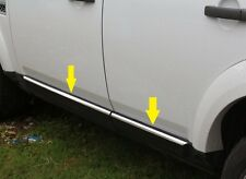 land rover Discovery 3 4 LR3 LR4 Stainless steel Side Door Chrome Molding Trims
