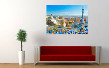 BARCELONA SPAIN NEW GIANT LARGE ART PRINT POSTER PICTURE WALL