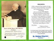 Reliquia - Santino - Reliquiario – Servo di Dio Mons. Pio Frezza