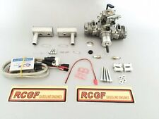 RCGF 21cc Twin Cylinder Gas R/C Engine