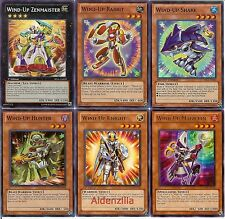 Yugioh Wind-Up Deck - 40 Cards + 4 XYZ - Magician, Hunter, Rabbit, Shark, Snail