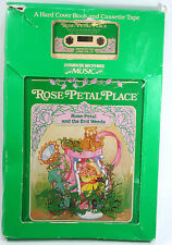 Rose-Petal Place and the Evil Weeds Children's Book w/Cassette Hardcover 1984