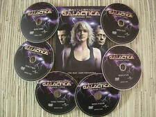 DVD SERIE BATTLESTAR GALACTICA  3ª TEMPORADA 20 CAPITULOS EN 6 DVDS USADO