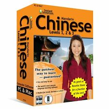 Learn How To Speak Chinese Mandarin With Instant Immersion Levels 1-3 Retai