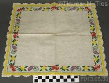 2 Vintage Franciscan Small Fruit USA Appetizer Buffet Paper Napkins (GG)