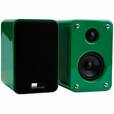 Pure Acoustics Green Dreambox Compact Hi-Fi Speaker Pair