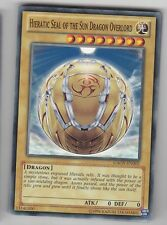 YU-GI-OH Hieratic Seal of the Sun Dragon Overlord Common GAOV-EN002