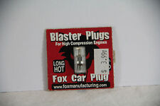Fox Blaster Long Glow Plug, Hot Temp Range, High Compression Engine, 0-20% Nitro
