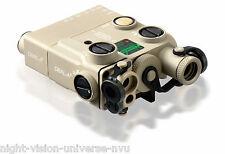 Steiner DBAL-A3 Dual Beam Aiming Laser PEQ-15A Class 3b IR Class IIIa Green 9009