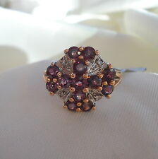 2.60ct Colour Change Sapphire Rose Gold Ring