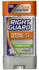 Right Guard Total Defense Anti-Perspirant Deodorant 4 oz 5pk