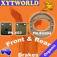 FRONT REAR Brake Pads Shoes for HONDA CG 150 ESD Titan 2004 2005