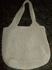 Frankie and Johnnie Crochet Purse with Coin Holder Gently Used