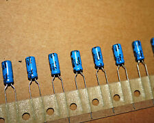 1UF 50V RADIAL ELECTROLYTIC CAPACITOR 1MF CAP QTY: 100