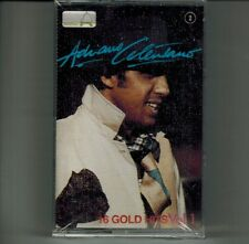 "ADRIANO CELENTANO ""16 GOLD HITS VOL 1"" ITALO MC BORI RARE CASSETTE NEW SEALED!!!"