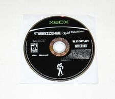 Stubbs The Zombie Rebel Without A Pulse Microsoft Xbox Game 2005 DISC ONLY Rare