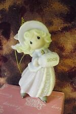 "Precious Moments-#104203 ""May Your Holidays Sparkle "" 2002 Annual Ornament-NEW"