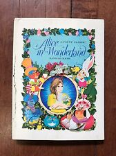 Vintage Alice In Wonderland Pop Up Book ~A Pop-Up Classic By Random House~