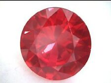 9 mm 3.7 cts Round Brilliant Cut Lab Created Ruby