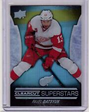 PAVEL DATSYUK 15/16 Upper Deck UD CLEAR CUT Superstars #CCS-22 Clearcut SP