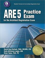 ARE 5 Practice Exam for the Architect Exam by David Kent Ballast [Paperback] HVI