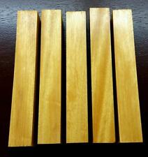 YELLOW HEART PEN BLANKS TURNING WOOD FISHING LURE #176