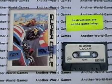 Super Cycle (Epyx) Amstrad CPC Game - VGC & Complete