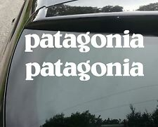 2x LARGE PATAGONIA SURF Funny Car/Window JDM VW EURO Vinyl Decal Sticker