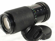 KALIMAR MC 80-200mm f 4.5-5.6 lens  for CANON FD mount camera MACRO SN8915676