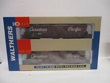 Walthers 932-23566 Pullman Standard 60' Auto Boxcar Single Door (2-Pack) HO NOS