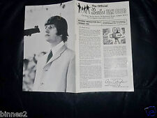 THE BEATLES OFFICIAL UK FAN CLUB NEWSLETTER No.5 SUMMER 1965 12 PAGE BOOKLET FAB