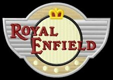 Royal Enfield shield ecusson brodé patche patch Lightning 535 500 Mofa  Mini
