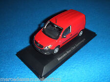 Mercedes Benz C 415 Citan Box truck/Panel Van Red/Red 1:43 New/New