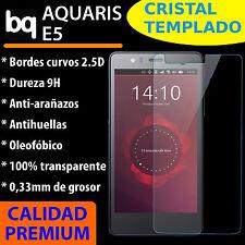 CRISTAL TEMPLADO PROTECTOR DE PANTALLA 0.3MM PARA BQ AQUARIS E5 4G FHD 9H 2.5D