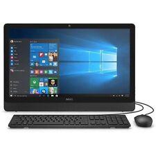 """Dell Inspiron 23.8"""" All-In-1 Computer 4GB 500GB Windows 10 (i3455-1241BLK)"""