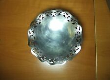 WMF Ikora Silver Plate Bowl with Open Work Border Made in Germany