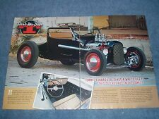 """1923 Ford Model T Roadster Hot Rod Article """"Hand-Me-Down"""" T-Bucket"""