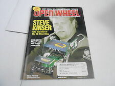 MARCH 2001 OPEN WHEEL vintage car racing magazine