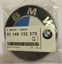 REPLACEMENT BMW E46 E60 E61 E81 E90 E91 E92 X5 M3 BONNET BOOT BADGE EMBLEM 82mm