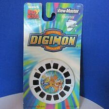 Digimon view master set 3 reels NIP new 2006 fisher price package worn