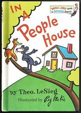 Children's Dr Seuss Bright and Early Beginner Book IN A PEOPLE HOUSE Roy McKie