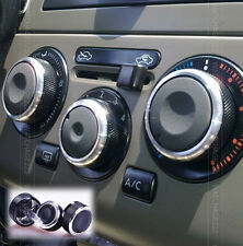 FIT FOR NISSAN TIIDA VERSA LIVINA HEATER KNOBS DIALS A/C SWITCH BUTTONS COVER