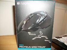Logitech G502 Proteus Spectrum RGB Tunable Gaming Mouse NEW Fast Shipping