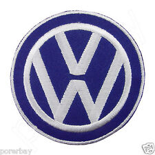 VOLKSWAGEN VW Logo Embroidered Iron On Patch #PVW041