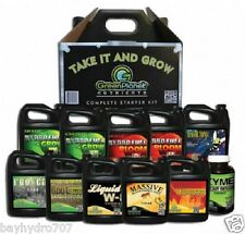 Green Planet Nutrients STARTER KIT MASSIVE, LIQUID W8, HYDRO FUEL A & B & MORE