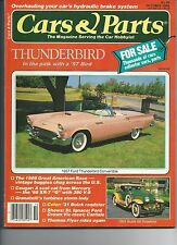 Cars & Parts October 1986 1957 Ford Thunder Bird Convertible 1931 Buick 60 Roads