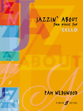 Jazzin About Cello Jazz Instrumental Solo Piano Learn to Play FABER Music BOOK