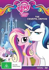 My Little Pony Friendship is Magic: The Crystal Empire - Tara Strong NEW R4 DVD