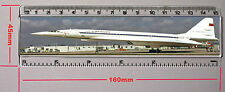 "TUPOLEV TU-144   6"" RULER 155MM X 29MM INSERT PHOTO (R640N)"